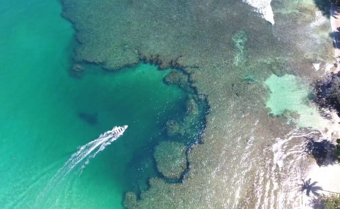 Aerial and Underwater Filming in Panama