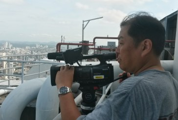 Japanese TV Show visits Panama and GP Productions services them